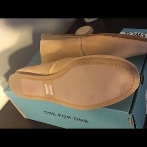 TOMS Kelli Leather Flats, SIZE 9